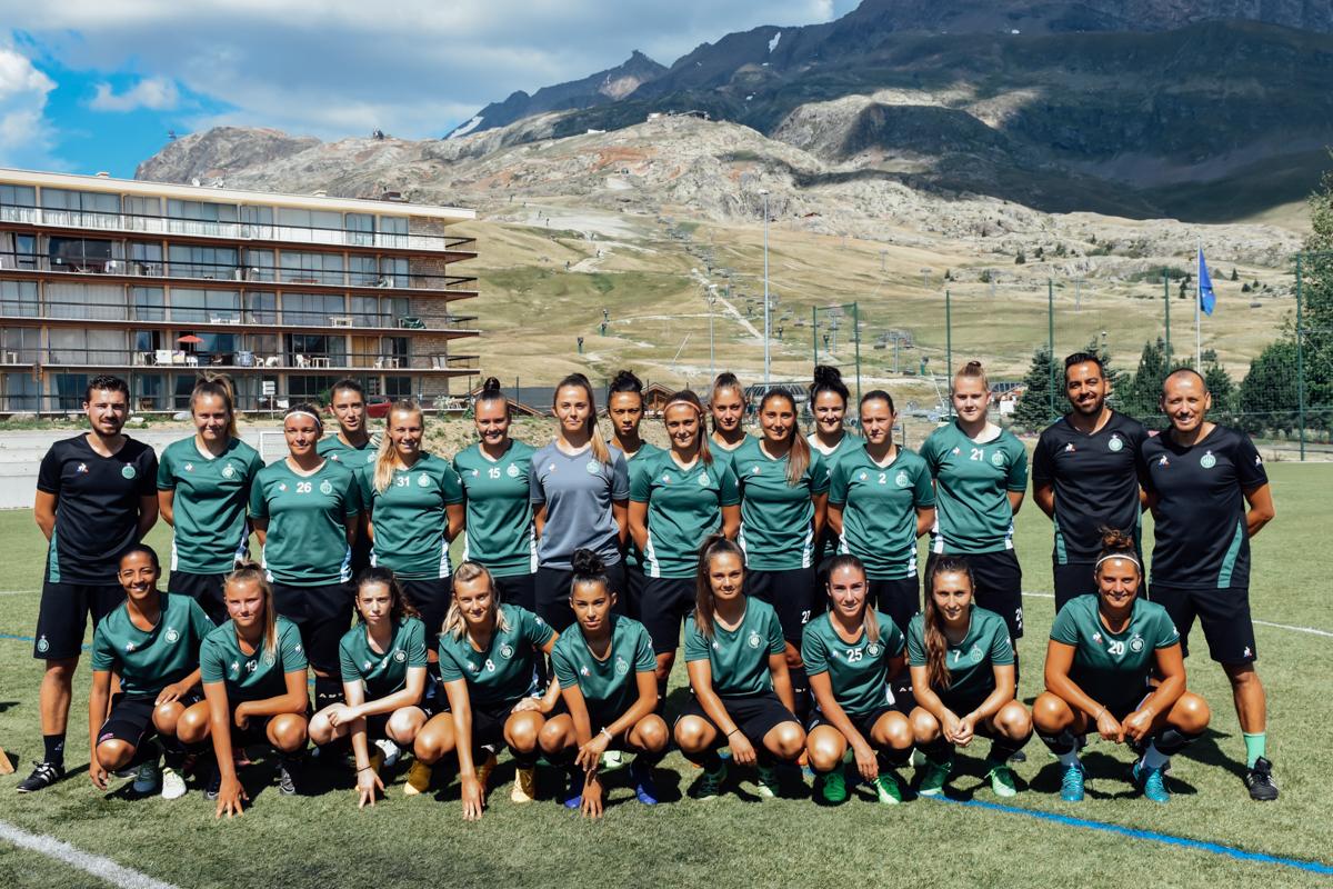 Les Vertes à  l'Alpe d'Huez