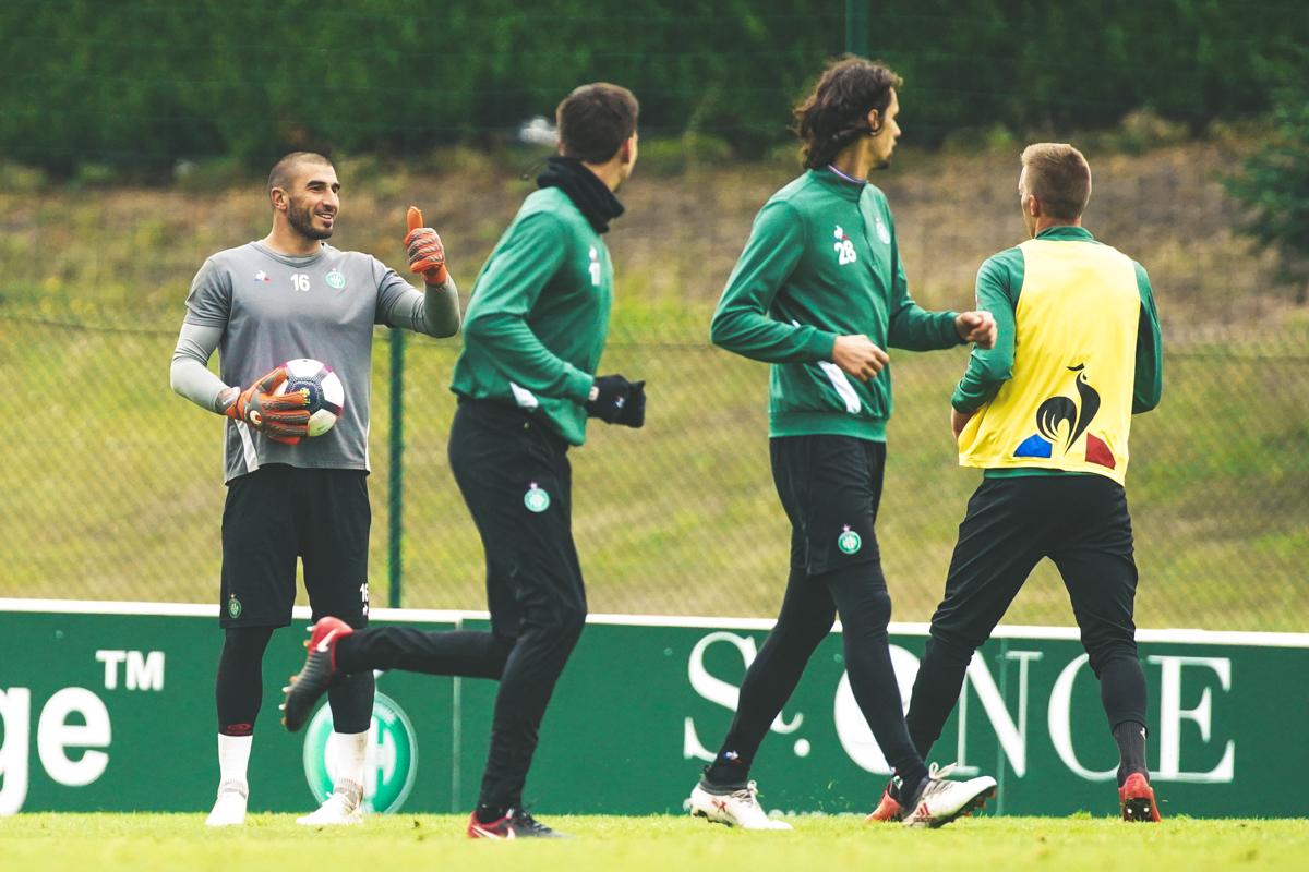 """Ruffier : """"Individuellement, c'est la meilleure équipe de Saint-Etienne que j'ai connu"""""""