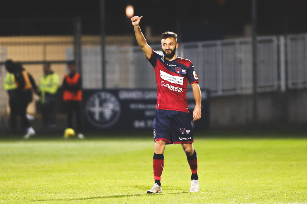 Calendrier Clermont Foot.Franck Honorat Performe