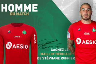 Maillot Domicile saint etienne William SALIBA