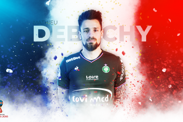 Mathieu Debuchy substitute with the French national football team