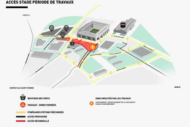 #ASSESMC Un plan pour faciliter l'accès au stade