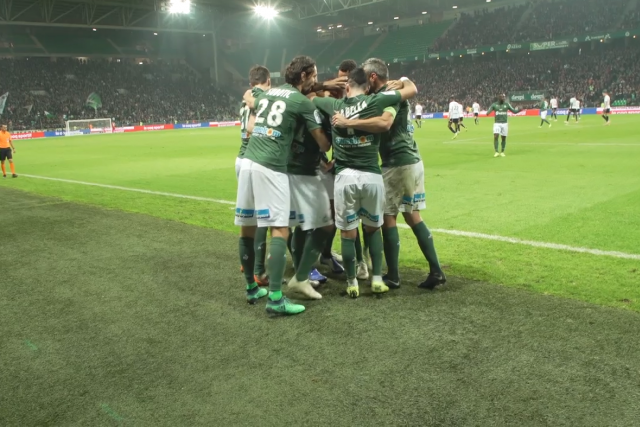 ASSE 4-3 Angers: enjoy the goals from the pitch