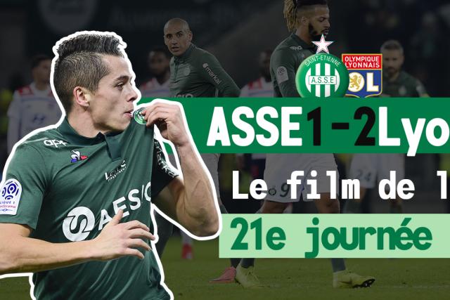 ASSE 1-2 Lyon: le film du match