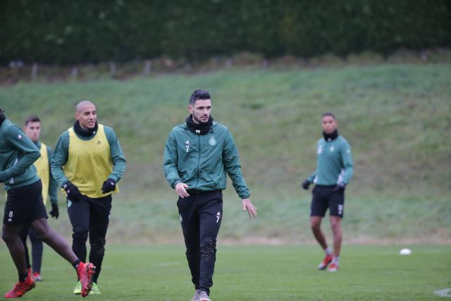 The first 2019 training session