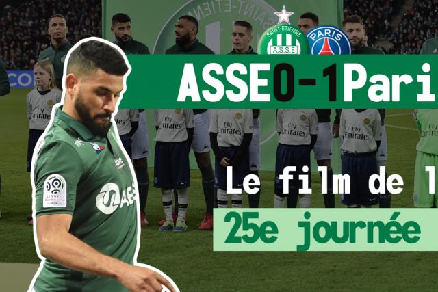 ASSE 0-1 Paris: le film du match