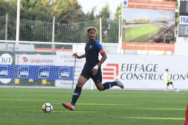 L'équipe de France U20 gagne sans William Saliba