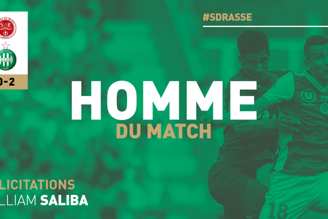 William Saliba élu homme du match #SDRASSE