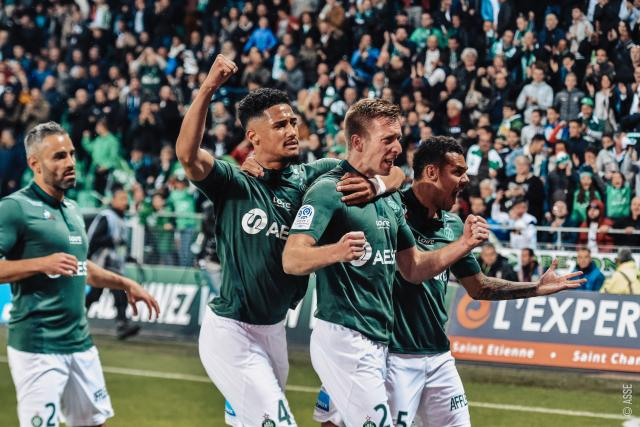 ASSE 3-0 Nice: Saint-Étienne, Coupe d'Europe !