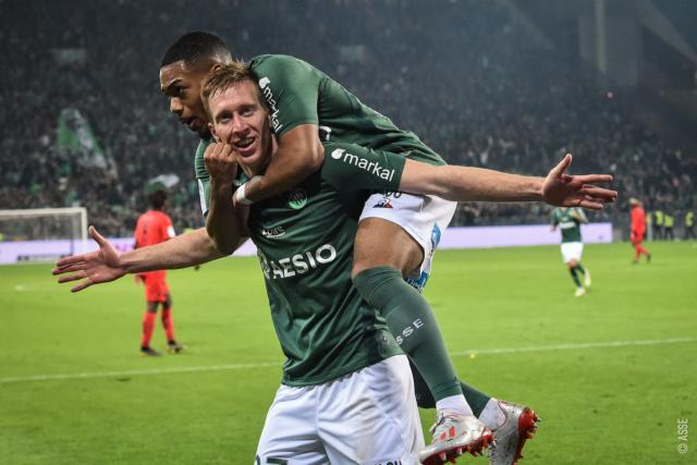 ASSE 3-0 Nice en photos