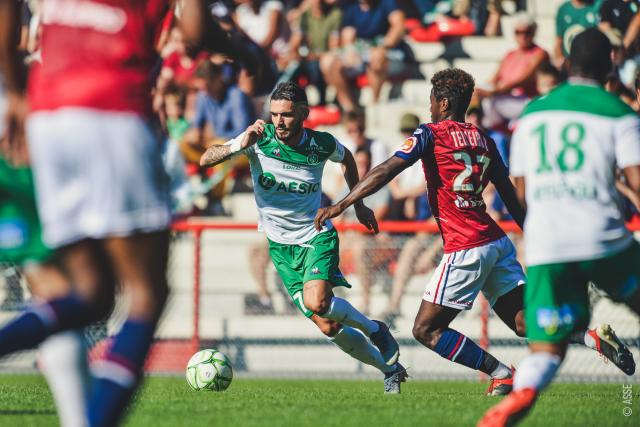 ASSE 1-1 Clermont: the pictures of the game