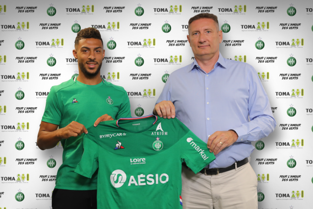 Denis Bouanga with ASSE until 2023 !
