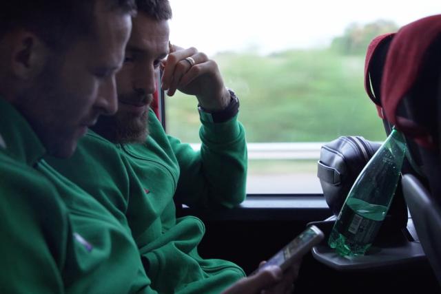 Le voyage vers Angers avec les Verts
