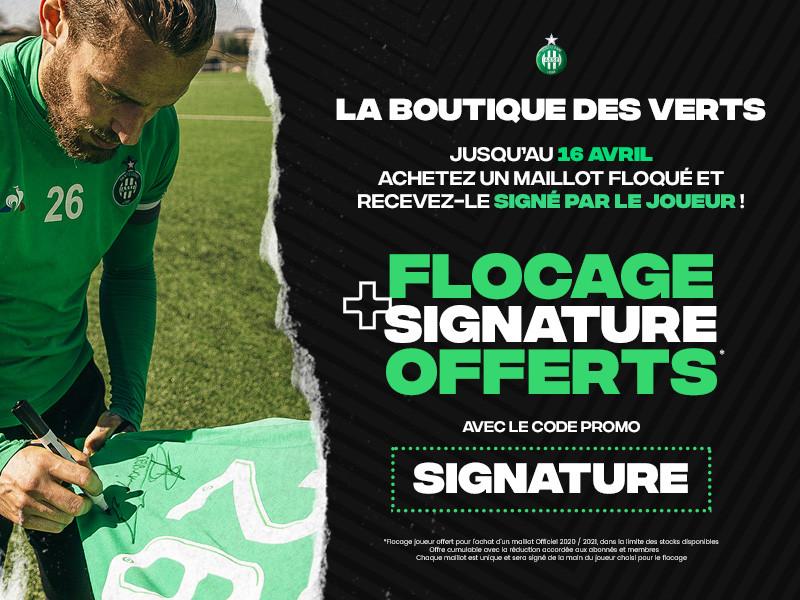 Boutique des Verts = opé signature